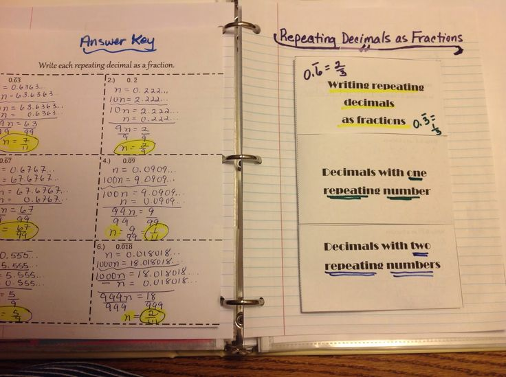 Equation Freak: Repeating decimals as fractions and some other stu...