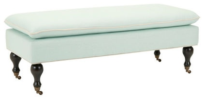 contemporary bedroom benches by Overstock