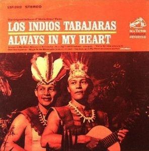 Always In My Heard Los Indios Tabajaras Vintage Record
