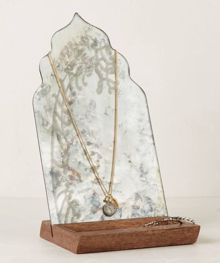 anthropologie Alcazar Pendant Necklace | jewelry stand from Anthropologie