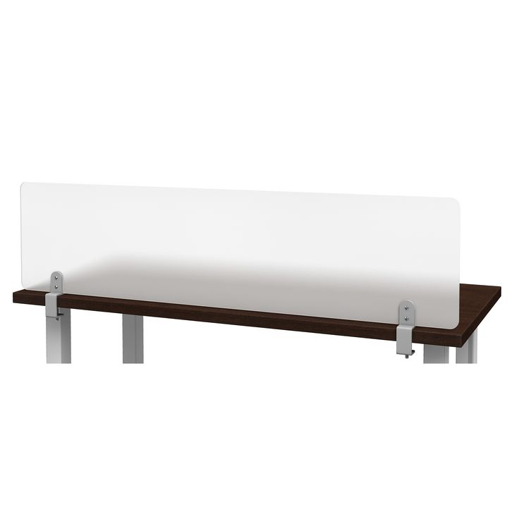Features:  -Rollin' Products Desk Dividers are a simple, economical solution for your office needs. These desk dividers quickly clamp on to the front or back of existing tables or desks and can be eas