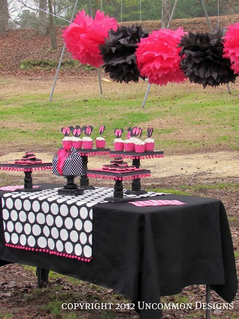 Minnie Mouse Birthday Party by Uncommon Designs