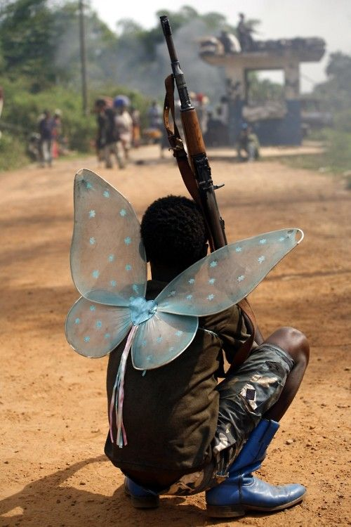 And when all the wars are over a butterfly will still be beautiful...
