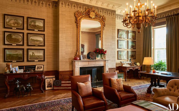 """The Obama Family's Stylish Private World Inside the White House,"" Architectural Digest (31 October 2016). Decorated by Michael S. Smith for the Obamas, the White House's private quarters are as worldly and relaxed as the family that calls them home."