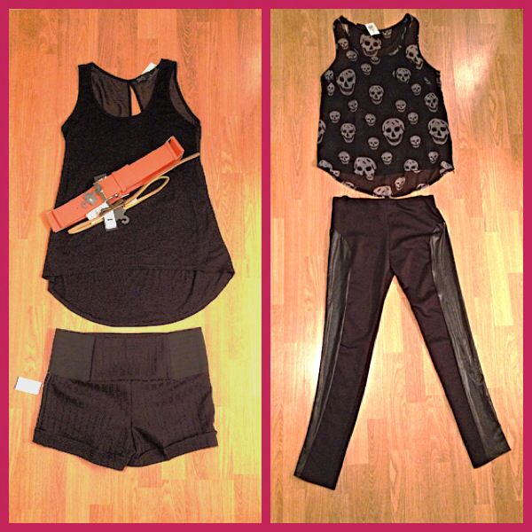 L Picture: Blouse: Stitches Outlet $5 Belts: Suzie Shier Outlet 2 For $5 Shorts: Stitches Outlet $5  R Picture: Blouse: Stitches Outlet $5 Leggings: Stitches Outlet $5 Total Spent: $25   Princessborntoshop specializes on finding stylish/affordable clothing within your budget. I will show you all the hidden discount/outlet retail shops within your city; making you look fierce, dress to impress & run way ready without breaking your bank account!  Inbox me to help shop your way to fabulousness!