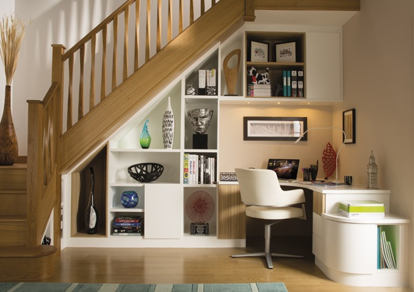 Innovative Under Stairs Study
