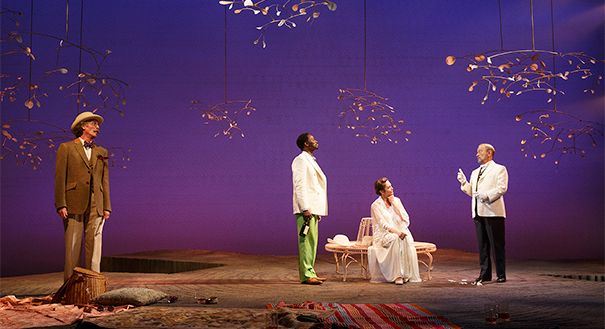 Roundabout Theatre Company - New York - John Glover, Harold Perrineau, Diane Lane and Joel Grey