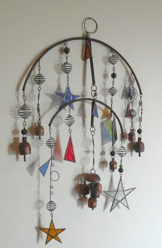 RESERVED FOR HAPPI   Vintage Hanging Metal by WishboneART on Etsy, $135.00