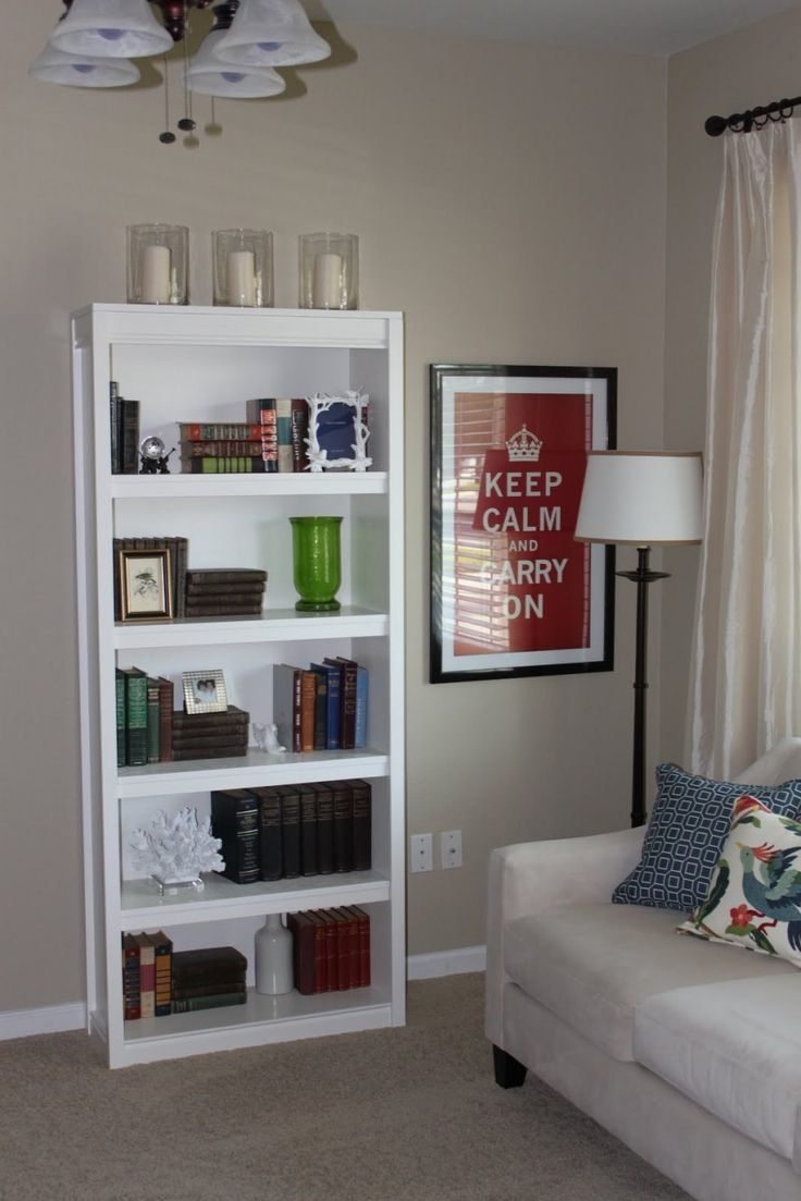 Best 25 Small White Bookcase Ideas Only On Pinterest