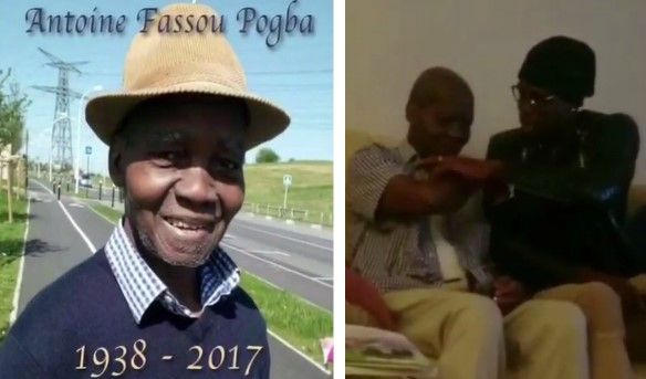 "Manchester United Super Star, Paul Pogba has posted a tribute to his father ""Fassou Antoine"" following his death at the age of 79.  The 24-year-old has been given compassionate leave by the Premier League club,   #Manchester United #News #Paul Pogba"
