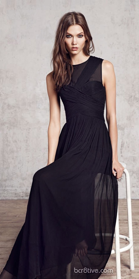 Karlie Kloss From the Mango 2012 Winter Collection