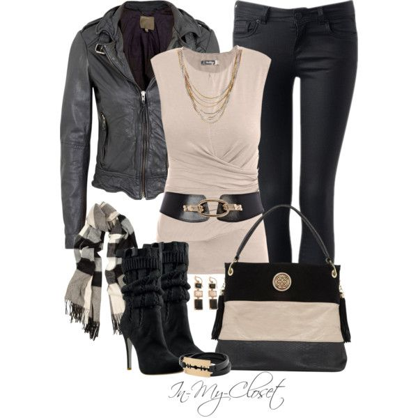 Chic OutfitChic Outfit, Fashion, Casual Outfit, Biker Jackets, Style, Clothing, Leather Jackets, Fall Outfit, Xmas Gift