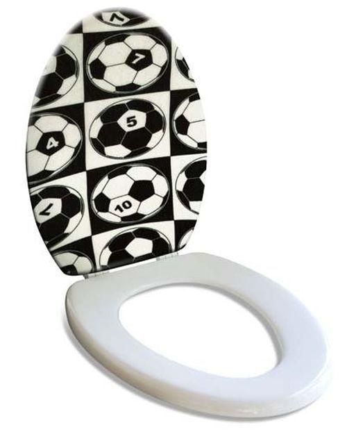 Football Soccer Toilet Seat Original Home Decor