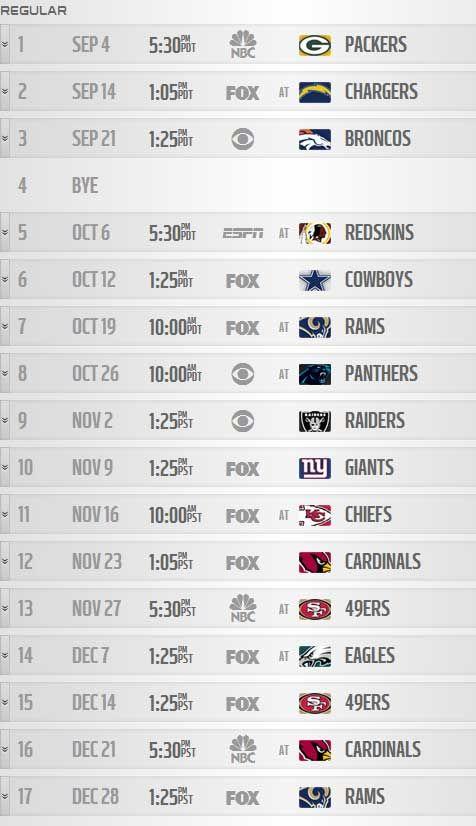 seahawks 2014 schedule   Seahawks 2014 schedule released   Seahawks Blog   Seattle Times