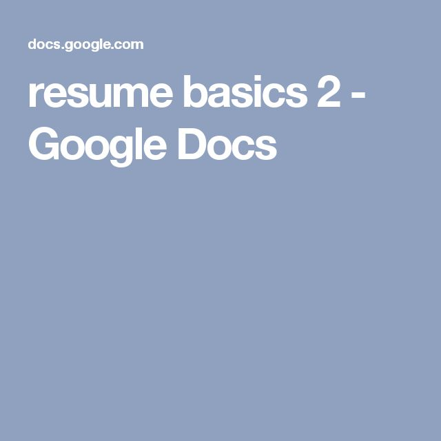 Best ideas about Google Resume, Google Resources and Resume - resume for google