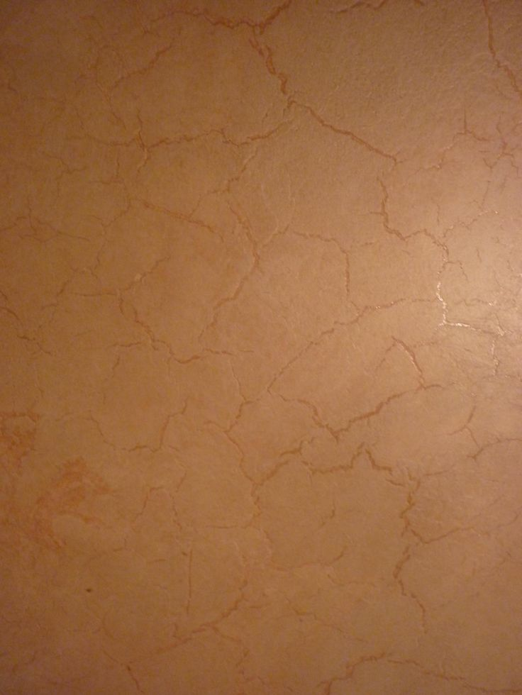 What Paint Finish For Bedroom: Luster Stone Paint Finish - Crackled Plaster