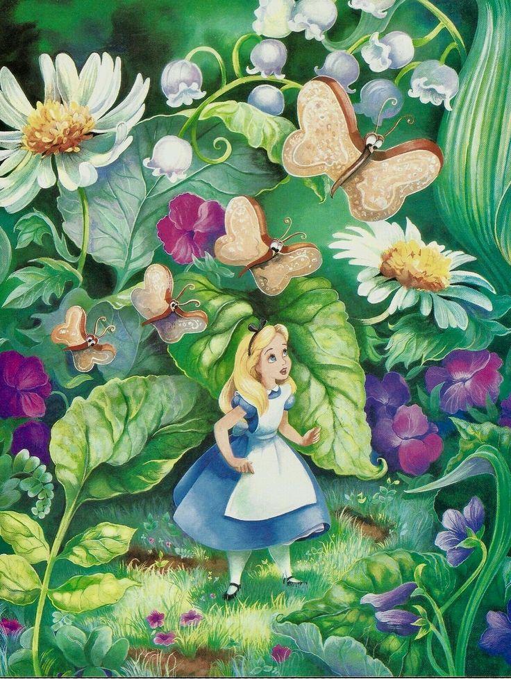 Алиса в стране чудес картинки к сказке