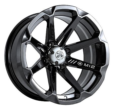 "MSA M12 Diesel UTV Wheels 14"" Black  Would be nice on the commander"