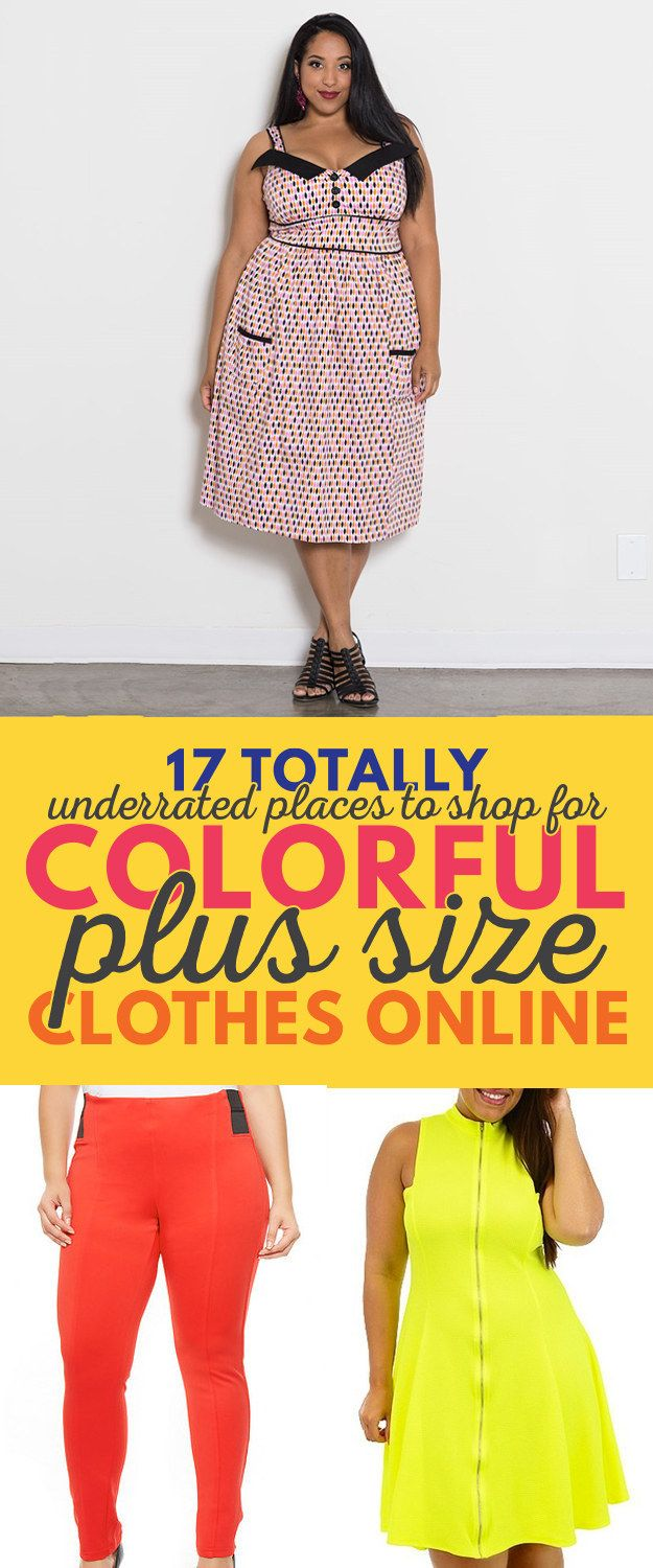 Best 25 plus size clothes online ideas on pinterest plus size 17 completely underrated places to find colorful plus size clothes ombrellifo Gallery