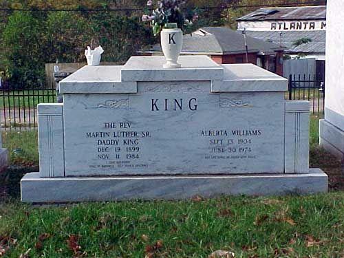 Martin Luther King Jr Grave | Rev Martin Luther King, Sr (1899 - 1984) - Find A Grave Memorial