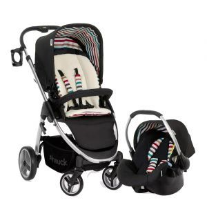 Hauck Lacrosse Shop n Drive Travel System in Stone
