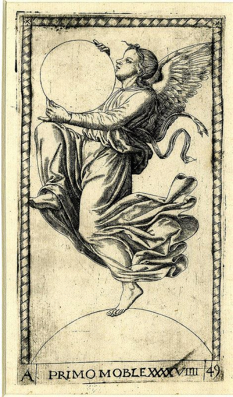 005-Primo mobile-el angel de la novena esfera-Tarot Mantegna-© The Trustees of the British