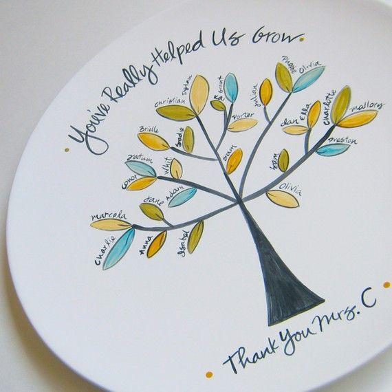 Beautiful Teacher's Gift