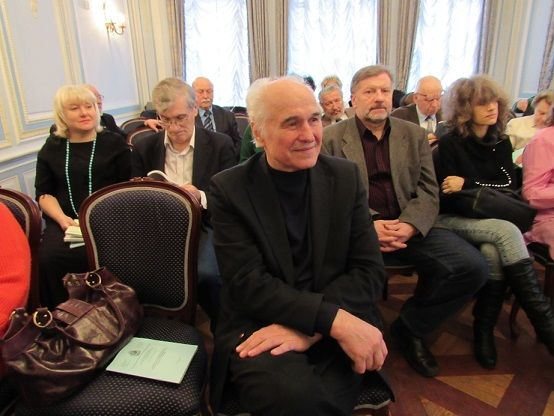 The meeting of the Petrovskaya Academy of Sciences and arts. Moscow. 2015