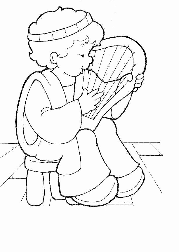 King Saul Coloring Page Elegant King Saul and David In the