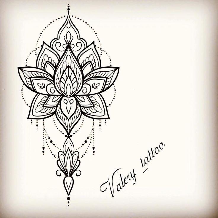 #drawtattoo #lotustattoo #tattoo #tattoos #lotus