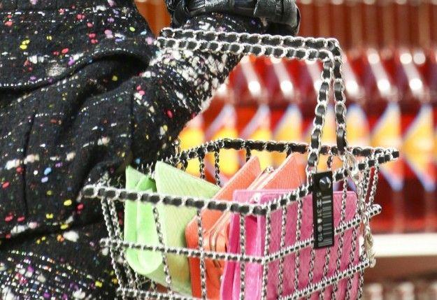 La borsa cestello di Chanel