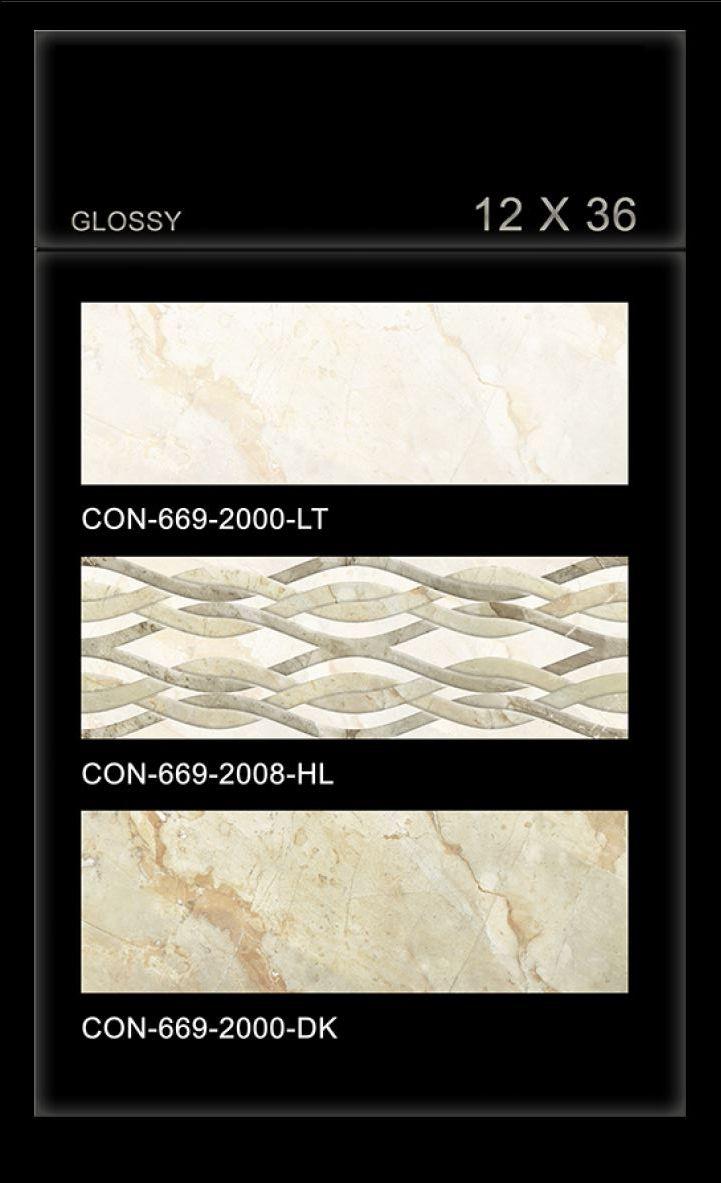 Product spotlight meet the eatsmart precision digital bathroom scale - Con_669 Millennium Tiles 300x900mm 12x36 Digital Ceramic Oct Glossy Large Format Marble Effect Backsplash Wall Tiles Con_669_2000_lt Con_669_2008_hl