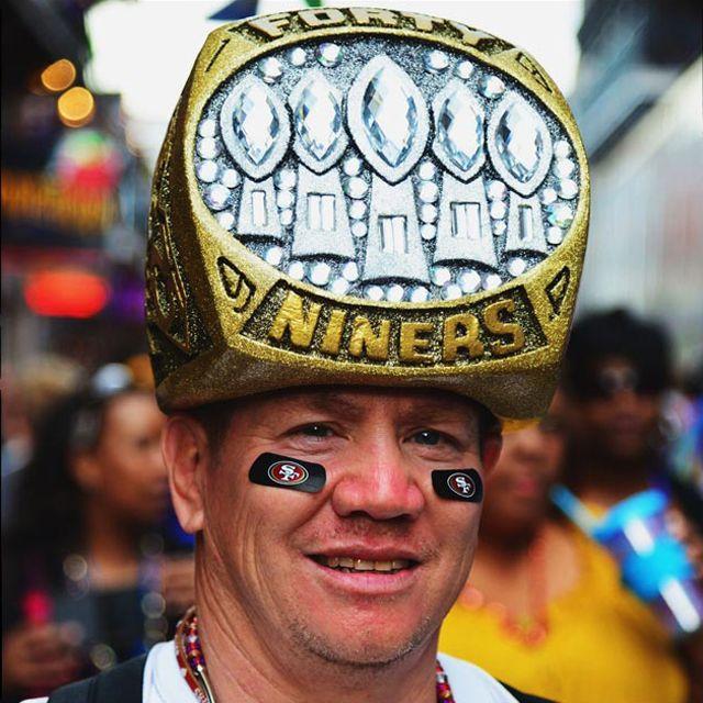 SF Forty Niners Super Bowl Fan