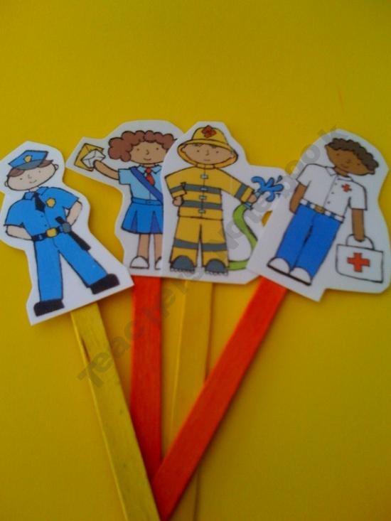Free Comm Helpers Sticks Preschool Printables By Gwyn