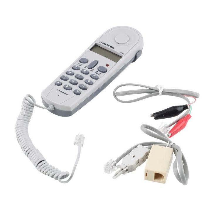 2017 Nouveau Stock Offre Téléphone Téléphone Butt Test Tester Monteur Outil Jeu de Câbles Connecteurs Joiner
