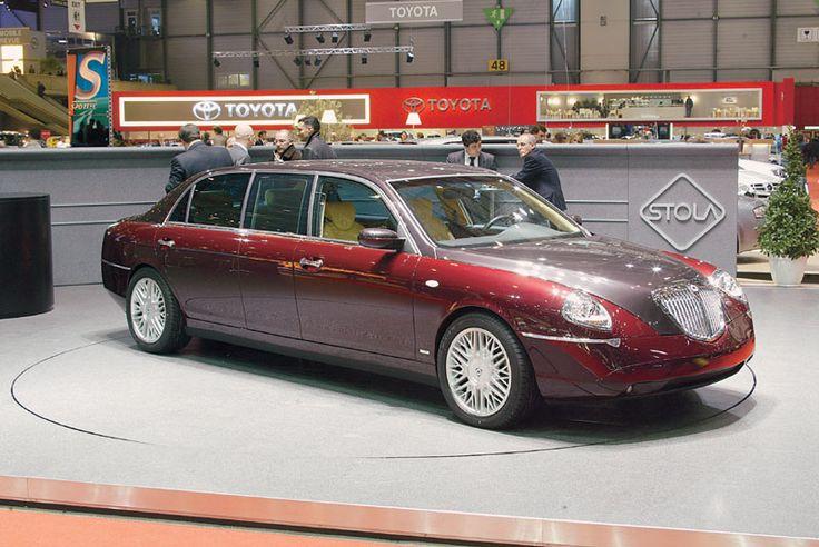 lancia thesis limousine s85 stola 2004