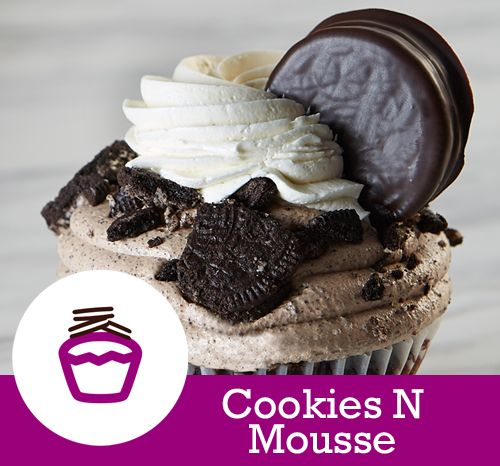 Cookies N Mousse Cake Chocolate With An Oreo Base Filling Topping