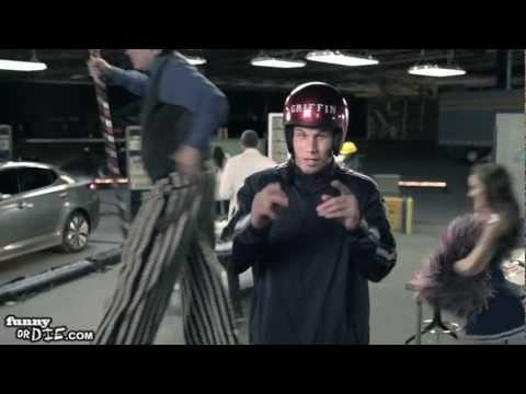 Kia Optima Dunks Over Blake Griffin