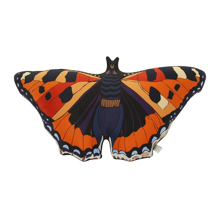 Discover the Silken Favours Monarch Butterfly Cushion at Amara