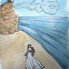 """La plage - série """"rêves d'enfants"""" a6"""