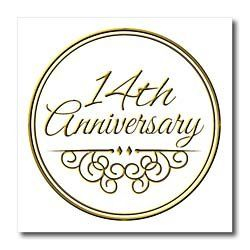 Inspirationz Occasions Anniversary Gift Gold Text For Celebrating Wedding Anniversaries 30 Years Married Together Iron On Heat Transfers
