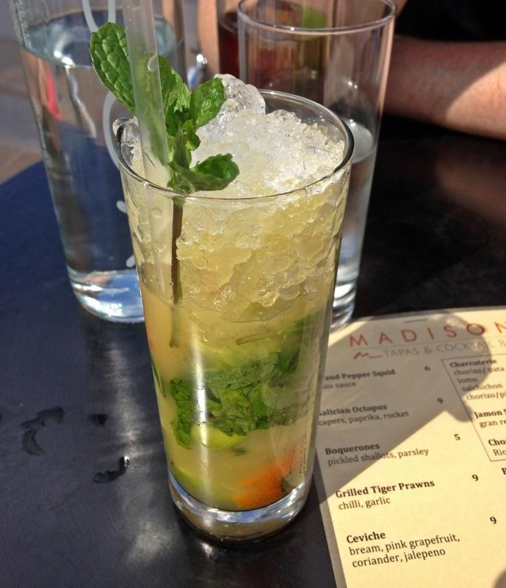 Citrus Mojito Madison London