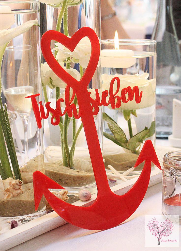 23 best Maritim Hochzeitsdeko images on Pinterest | Blue, Anchor and ...