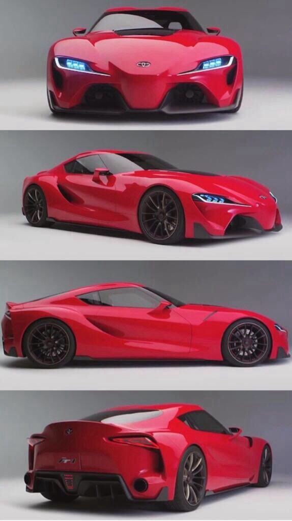 The New Toyota 'Supra' FT-1