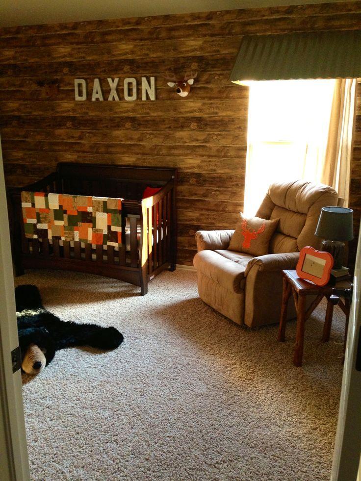 25 best ideas about Cabin nursery on Pinterest Hunting nursery
