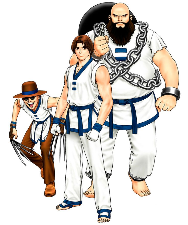 Korea Team from The King of Fighters '98: Ultimate Match