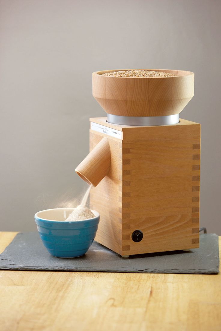 Milling your own grain produces the ultimate fresh flour.