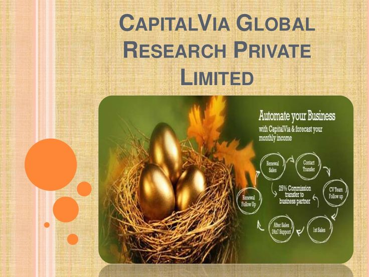 capitalvia-global-research-private-limited by capitalviaglobalprivatelimited via Slideshare
