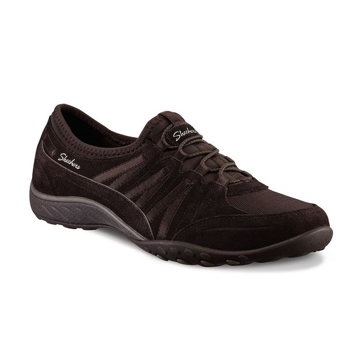 Skechers Relaxed Fit Breathe Easy Money Bags Women's Athletic Shoes, Size: 6.5, Brown
