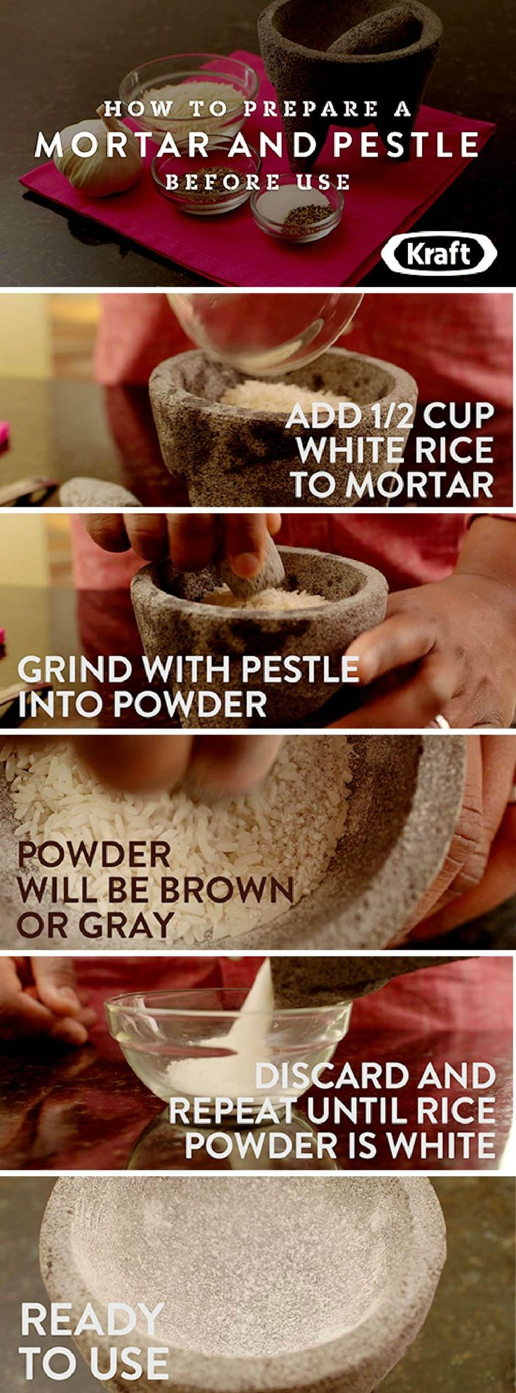 How To Prepare A Mortar And Pestle – You just got a mortar and pestle? Learn how to properly prepare it before use with this helpful tutorial!